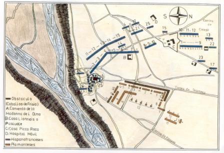 2 Planimetria campo Battaglia